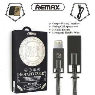 [BNIB SEALED] REMAX Royalty Cable RC-056I 1 Metre Lighting