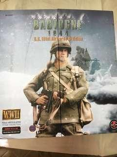 """12"""" 1/6 101st Airborne Bastogne band of brother"""