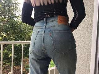 Levis vintage denim jeans