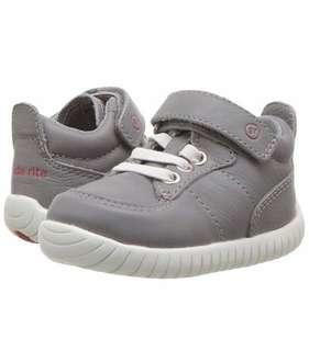 Stride Rite Kids' SR Tech Bailey Grey Sneaker (Size: US 3W Infant)