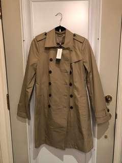 Banana Republic trench coat - size MEDIUM