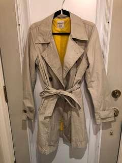 Old Navy trench coat - size LARGE