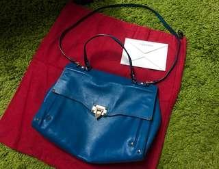 valentino shoulder bag blue special