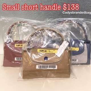 Brand New Instock Small Short Handle Longchamp Bag