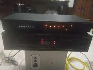Pioneer  Stereo Amplifier - SA -970 + GT870 Grafik Pioneer Equlizer