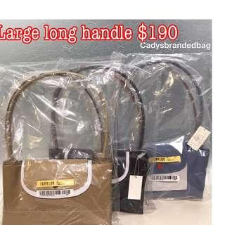 Brand New Instock Large Long Handle Longchamp Bag