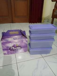 Tupperware Set plum colection