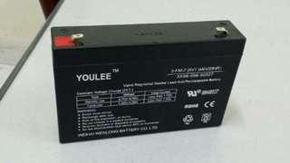 Battery 6V 7A (Sealed & Rechargable)