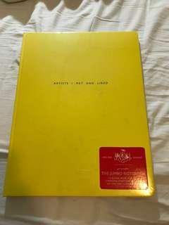 Jumbo Blank Notebook