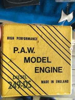 P.A.W 249 ds model engine