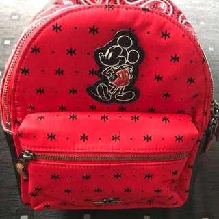 BNWT Coach Mickey Mini Charlie Backpack