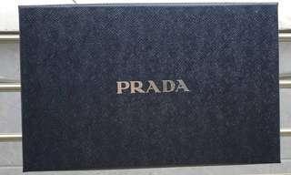 Preloved Genuine Prada Mens Clutch (Blue)