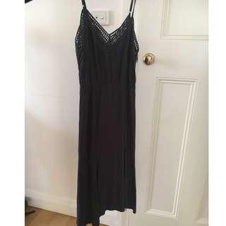 Tigerlily Cuanana dress grey, size 10 AS NEW