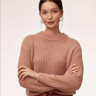NEW WILFRED ARITZIA SALETTE SWEATER