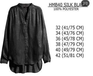 Hnm silk black