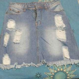Rok Jeans ripped jeans