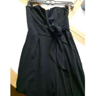 Guess black strapless jumpsuit 4