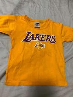 Various Lakers Shirt for Baby Boy