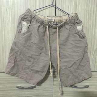 🚚 二手抽繩鬆緊口袋五分短褲#半價衣服市集