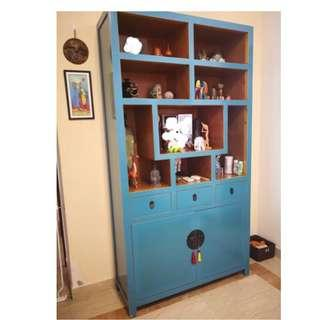 Costume Made Chinese Elm Cabinet
