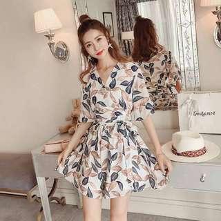 summer casual terno.(blouse &short)