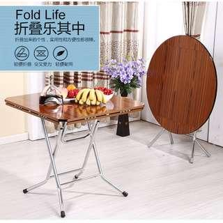 Newest Transformable / Foldable Dining Table Round / Square