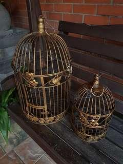 Bird Cage Metal Wrought Iron