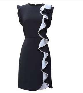 Max Mara Mela Ruffle Dress