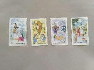 1985年 中國郵票,鄭和下西洋580周年纪念郵票