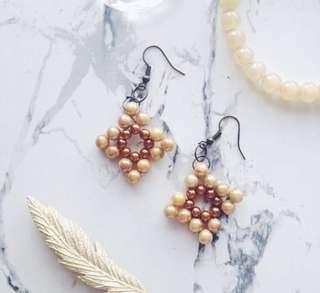 Retro Beads Earrings