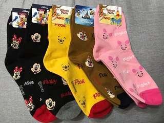 迪士尼角色短襪