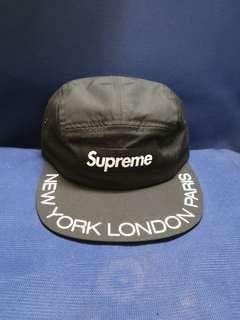 Supreme SS18 Visor camp cap
