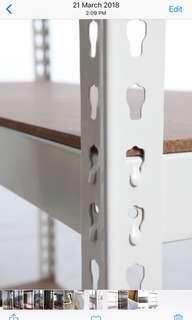 🚚 Adjustable metal rack