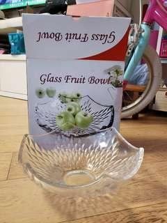 Glass fruit bowl 玻璃水果盆