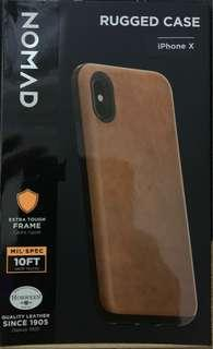 Nomad Horween Leather iPhone X atau XS