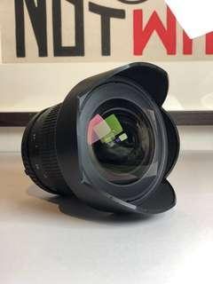 Samyang 14mm, 2.8f lens For Nikon DSLR