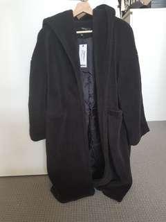 Boohoo Teddy Coat Size 8