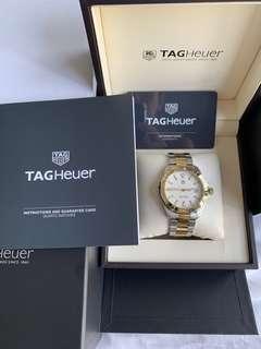 65% FINAL OFF!! Like New Tag Heuer Aquaracer Half Gold 41mm Quartz Latest model