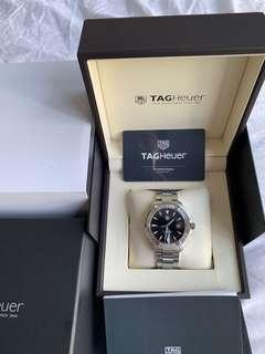 55% FINAL OFF!! Like New Tag Heuer Aquaracer Black Dial 41mm Latest Model