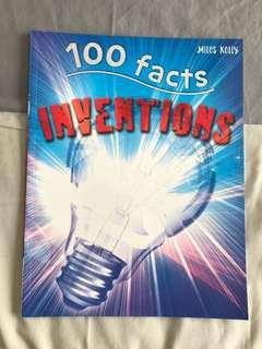 100 facts : Inventions : Projects Quizzes Fun Facts Cartoons by Miles Kelly