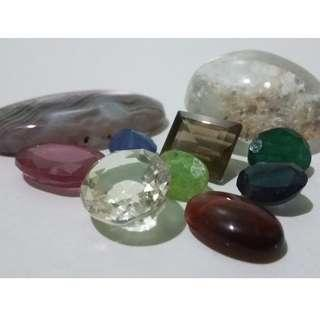 (10 Items) Gemstone Collection
