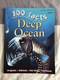 100 facts : Deep Ocean : Projects Quizzes F un Facts Cartoons by Miles Kelly