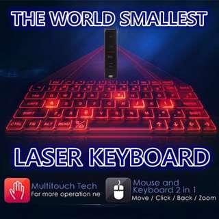 Portable Full-Size Virtual Keyboard with Mouse