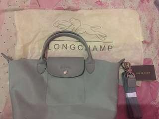 Longchamp neo grey Non adjustable strap