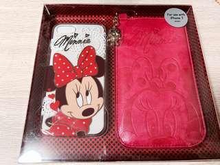 Disney iPhone 7 Case Minnie 電話殻連套 正版
