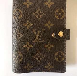 Authentic Louis Vuitton Small Agenda
