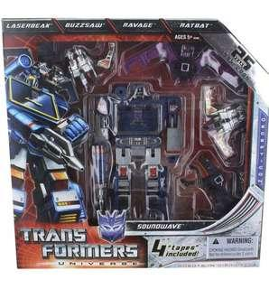 Transformers Universe 2009 SDCC San Diego Comic-Con Exclusive 25th Anniversary Figure Soundwave