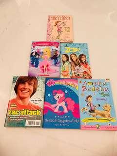 🚚 Six books set