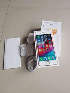 FS - Iphone 6s 64gb Rosegold