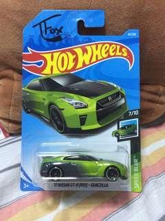 2019 Hot Wheels '17 Nissan GT-R (R35) - Guaczilla | Tanner Fox